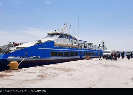 رعایت دقیق الزامات بهداشتی در شناورهای متردد به جزیره ابوموسی