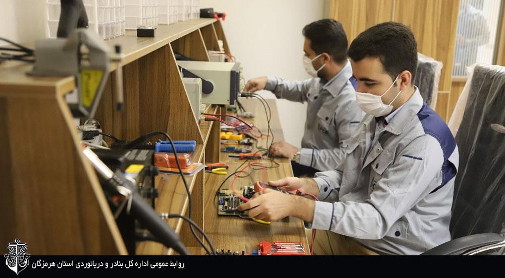 راه اندازی کارگاه تخصصی تعمیر و ساخت انواع بردهای الکترونیکی، تجهیزات مخابراتی و بندری