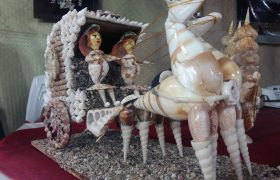 عروسکهای صدفی(صنایع دستی صدف)
