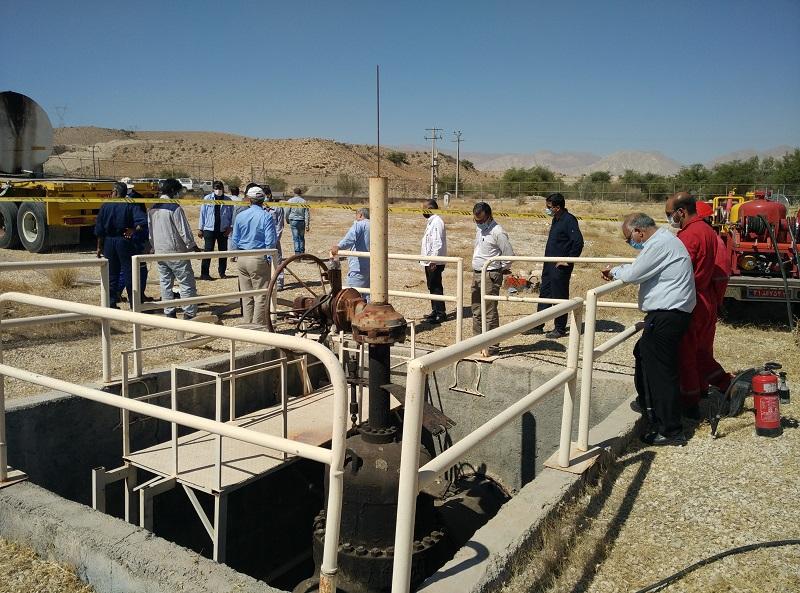 عملیات شبیه سازی نشتی مسیر خط ۲۶ اینچ در منطقه خلیج فارس