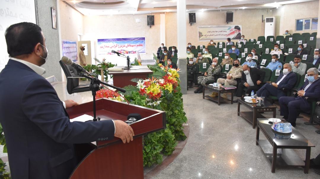 تأکید رئیس کل دادگستری هرمزگان بر نقش مهم سازمان قضایی نیروهای مسلح در صیانت از صلابت و اقتدار حافظان حریم کشور