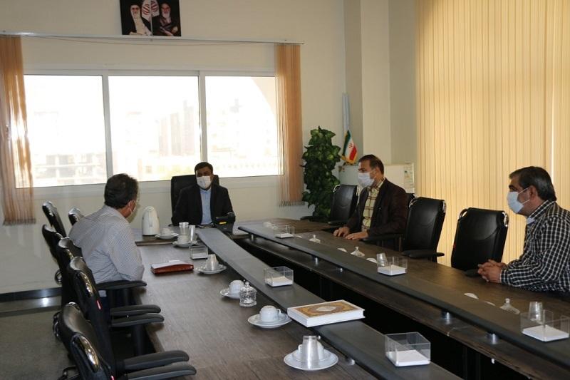 دیدار سرپرست منطقه خلیج فارس با معاون امور امنیتی و انتظامی استانداری هرمزگان