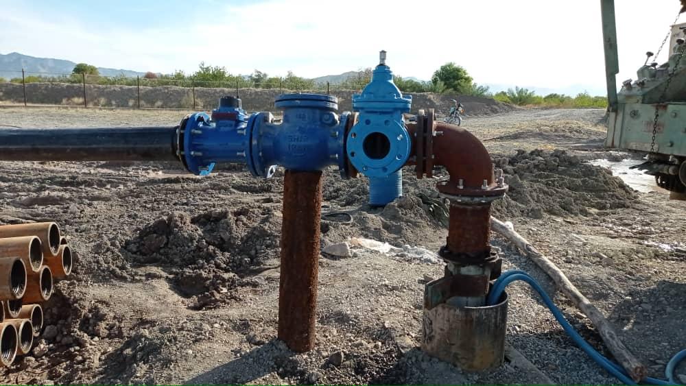 چاه جدید برنطین وارد مدار تولید شد/ آب مشترکان روستای برنطین به پایداری لازم رسید