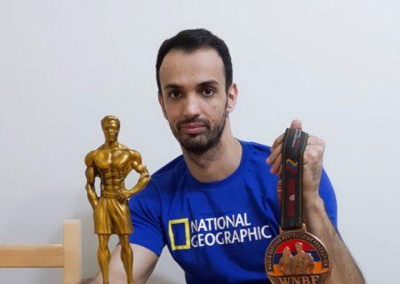 مقام سوم مسابقات فیزیک نچرال اوراسیا برای ورزشکار هرمزگانی