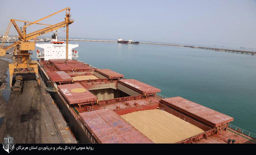 ۲ کشتی حامل روغن خوراکی در بندر شهید رجایی پهلوگیری کردند