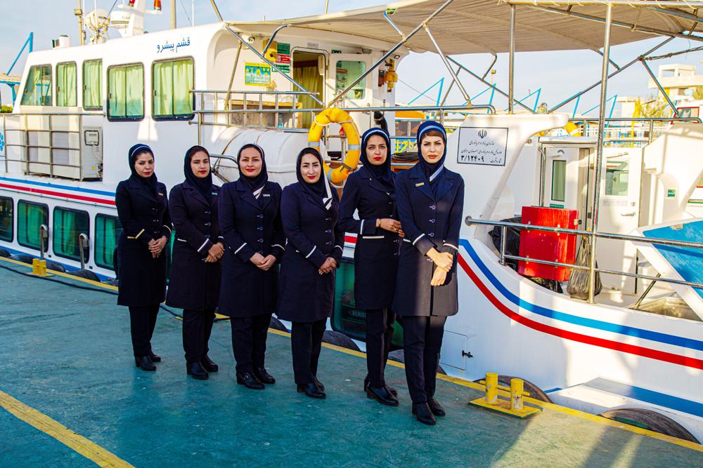اهتمام ویژه سازمان بنادر در امر توانمند سازی بانوان دریانورد